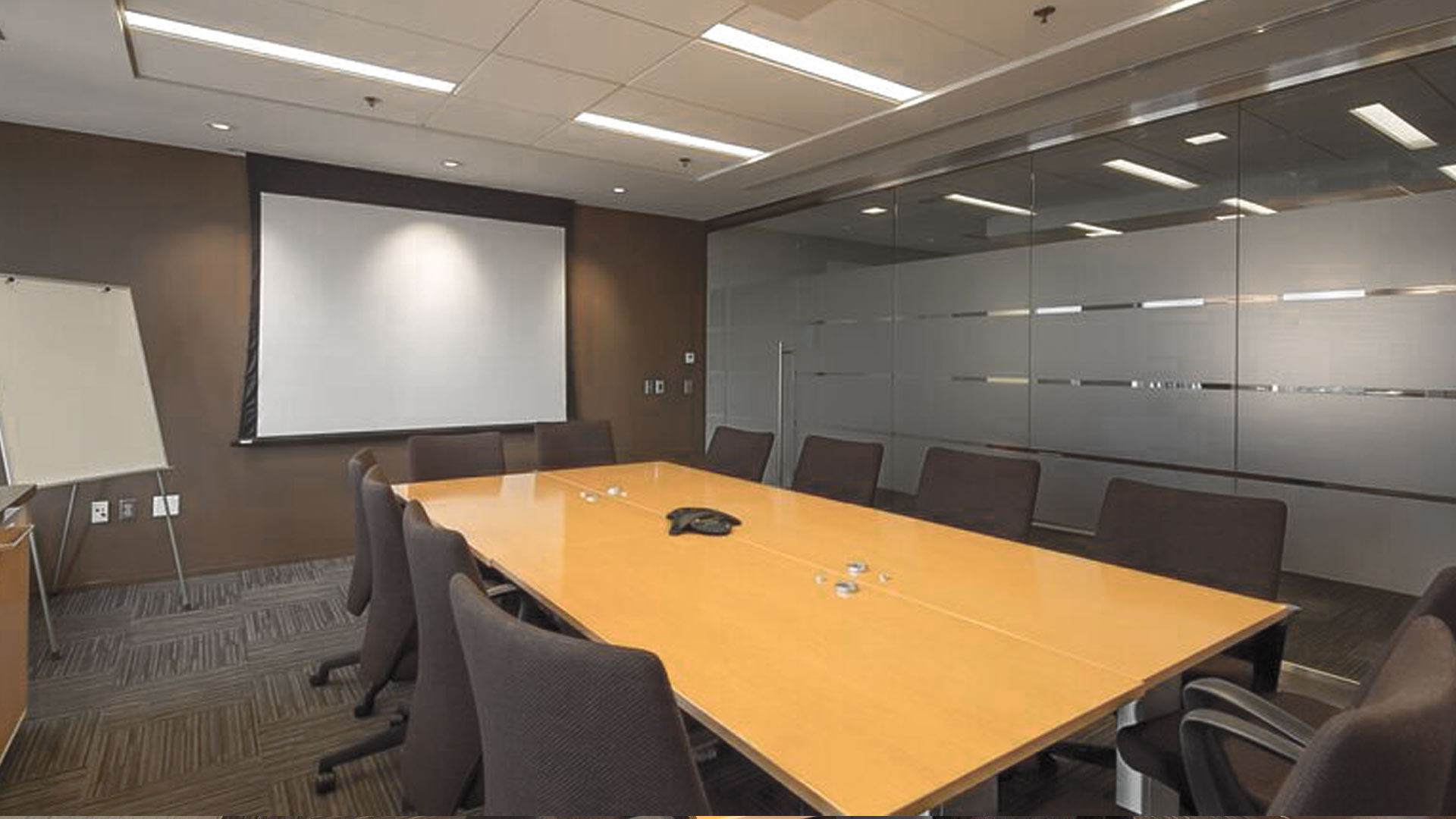BOOK A CONFERENCE ROOM Pro Suites - 12 person conference table